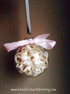 Perfect gift for bride! Etsy - Breakfast with Bentley // handmade // homemade // love