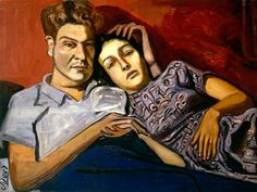 Alice Neel-one of the most original portraitists of the 20th century.  Captures her subjects just as they are; simply beautiful in their raw existence.