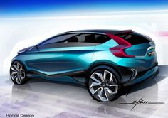 At the New Delhi Auto Expo 2014 Honda has presented the Vision XS-1 Concept, a compact crossover tha combines a dynamic exterior styling with a spacious seven-seater interior.