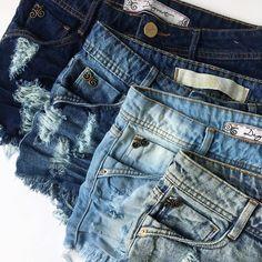 15516feb6 23 melhores imagens de Shorts jeans | Women's cropped jeans, Denim ...