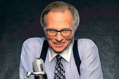 Larry King has pledged to give away money through the Larry King Foundation to help people with heart problems. What a star!