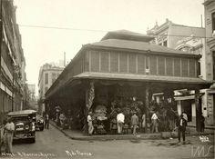 Mercado das flores 1920/- IMS
