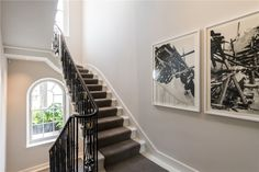 A UK based estate agency with a national network of offices, each providing a wide array of property related services. Palace Interior, London House, Parking Design, Neoclassical, Property For Sale, Terrace, Stairs, English, Home Decor