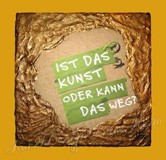 Kunst-oder-was? (Kupfer) / Art-or-what?