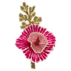 Coral and Tusk - pink dandies boutonniere