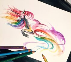 48- Unicorn by Lucky978.deviantart.com on @DeviantArt