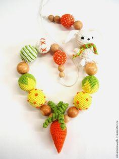 Слингобусы ручной работы. Ярмарка Мастеров - ручная работа. Купить Слингобусы Зайка с морковкой. Handmade. Слингобусы, мамабусы, экобусы