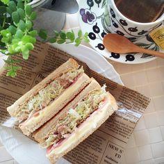 "instagram #沼サンで一気に話題に!沼夫さんの""キャベツたーっぷりサンドイッチ""とアレンジレシピ | by.S"
