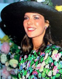 A very pretty picture of Princess Caroline....