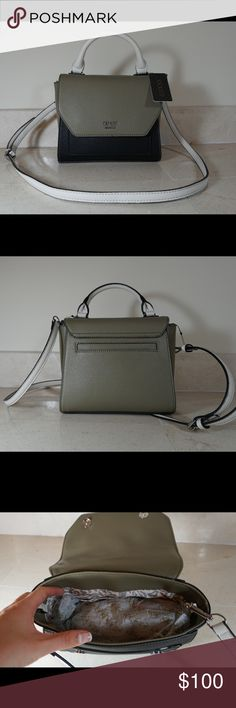"""HP Guess bag Guess bag ! Brand new!! Tags attached.  brand Guess .     size 8.5"""" x 4"""" x 7"""" Hermes Bags Crossbody Bags"""
