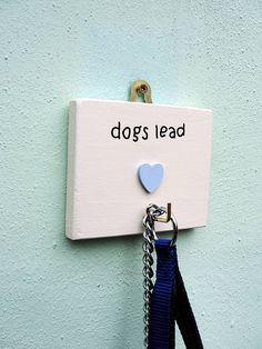 Personalised Dog's Lead Hook