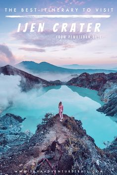 Ijen Crater a.a Kawah Ijen is the must see place in East Java that very close to Pemuteran, Bali. If you wish to do the trip from Pemuteran and look for the best itinerary to read, here are below the best one for you; Bali Travel Guide, Java, Are You The One, The Best, Fire, Tours, Good Things, Places, Beautiful