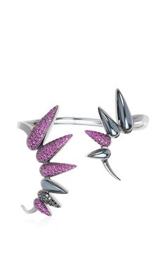 Spectrum Collection Spiked Cuff by Nikos Koulis for Preorder on Moda Operandi