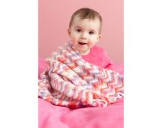 Ripple Baby Throw Pattern