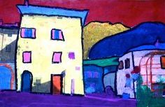 After studying the work of Fauves artists and particularly the landscapes painted by André Derain, the students of Grade have produced some images inspired by the style of this artist. Class Art Projects, Art Projects For Teens, Art Activities For Kids, Art For Kids, Henri Matisse, Paul Cezanne, Fauvism Art, Maurice De Vlaminck, 7th Grade Art