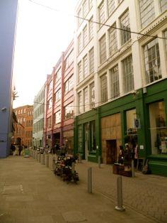 The Custard Factory, Birmingham's Creative Quarter. An excellent example of a city's neighbourhood revamp.