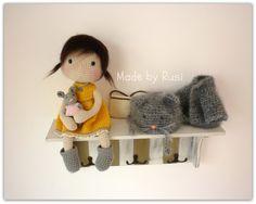 Amigurumi häkeln Puppe Paula-von Rusi Dolls von RusiDolls auf Etsy