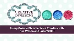 Creative expressions pixie powders - YouTube