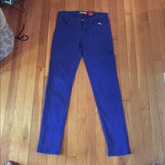 Blue Judy Blue Jeans Size - 13 Brand - Judy blue  Worn once  Defaults - none  Material - denim Judy Blue Jeans Skinny