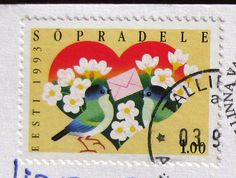 Estonian stamp. by Missive Maven on Flickr.