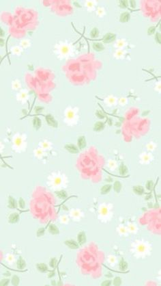 Roses & daisies ~ wallpaper/background/lock screen