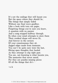 25 Of My Favorite E.H Poems