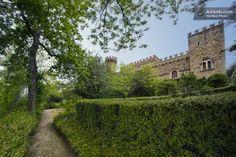 Borgia Castle in Tuscany in Passignano Sul Trasimeno