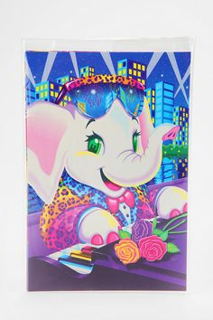 Lisa Frank Limited Edition Vintage Postcard - Set Of 5 -- old school!!