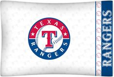 Texas Rangers Micro Fiber Pillow Case Logo #SportsCoverage #TexasRangers