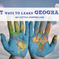 Easy Ways to Learn Geography: Here are some crafts, games, and activities that will help your children learn about their world.