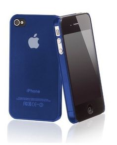 ArktisPRO 121175 ORIGINAL Premium Hülle für Apple iPhone 4/4S blau