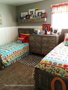 Hello Everyone!! Don't faint or have a heart attack or anything but yes… here is a new post! And it's a good one too!! We are revealing our son's bedroom – a boys rustic transportation bedroom! Remember how I said I would do this weeks months ago and then sort of dropped off the blogging [...]