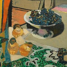 Maurice Brianchon  Still Life with Grapes (detail)  1956