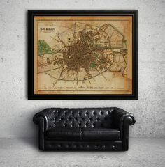 London England 1862 Rustic Map Print Disclaimer: These prints may look like Restoration Hardware style maps but they are in no way affiliated with or produced by Restoration Hardware New York City Map, Vintage Maps, Vintage Posters, Home Renovation, Dublin Map, Dublin Ireland, Washington Dc Map, England Map, Buenos Aires