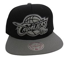 Mitchell  Ness Cleveland Cavaliers Snapback Hat Jordan 8 Retro Chrome -- Read more reviews of the product by visiting the link on the image.