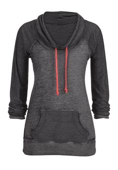 13c3428f8c98 cowl neck pullover with contrast ties (original price,  34) available at   Maurices