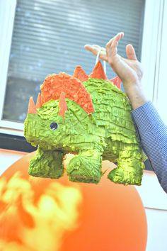 dinosaur party piñata
