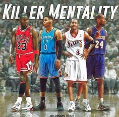 A squad of killers of the NBA..  Past and present players