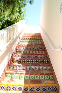 tile staircase, itsy bitsy indulgences, la quinta resort and spa palm springs