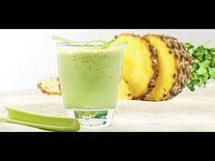 jugo para desintoxicar, bajar la panza, perder peso, limpiar el colon y bajar el colesterol. - YouTube