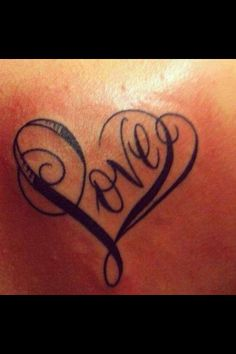 Love heart tattoo                                                                                                                                                                                 More