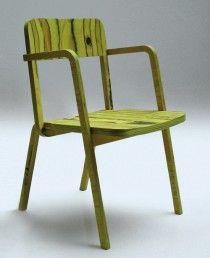 Prater Chair / RICHARD LAMPERT  (green)