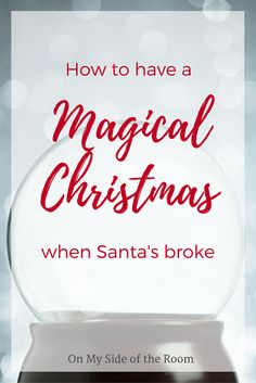 How to make a magical Christmas without buying a thing. The holidays don't always have to be expensive. Find fun free and inexpensive family traditions. Great for Christmas on a budget. Pin now and save for later!