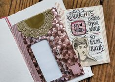 Kindness Art Journal Spread from thesoulofhope Creative Art, Journaling, Happy, Creative Artwork, Caro Diario, Happiness