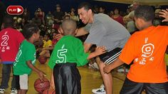 Spurs Youth Backetball League gets some help from Danny Green and Kawhi Leonard
