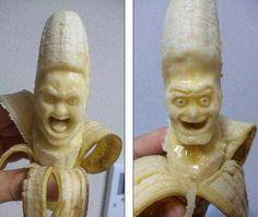 # Banana face