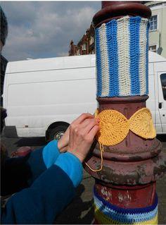 #Surbiton #Yarn Bombing