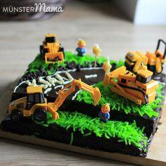 Baustellen Kuchen Maulwurfkuchen