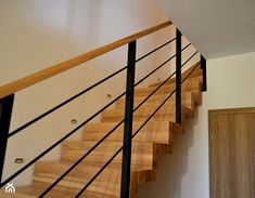 Railings For Staircase Cool Photos Stair Handrails Wood Interior Stair Railings Wooden Straight Stair Interior Stair Railing, Modern Stair Railing, Stair Railing Design, Wood Railing, Stairs And Staircase, Stair Handrail, Stair Decor, Modern Stairs, House Stairs