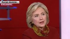 Rachel Maddow Calls Out Hillary Clinton for Slandering Bernie Sanders - YouTube
